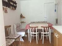 Kuchyň - pronájem chalupy Karolinka