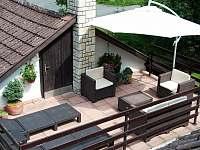 Poležení na terase