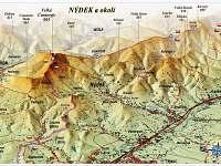 Mapa Nýdek a okolí