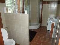 Pohled do koupelny, WC