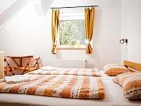 Dvoulůžkový pokoj - ubytování Dolní Bečva