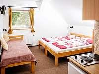 Třílůžkový pokoj - ubytování Dolní Bečva