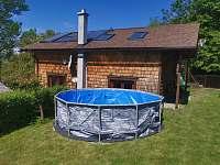 Domek s bazénem - chalupa k pronajmutí Bukovec