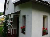 Vchod do domu - chalupa k pronajmutí Horní Bečva