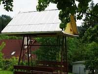 Zahradní houpačka - chalupa ubytování Horní Bečva