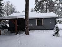 chata v zimě - k pronájmu Ostravice
