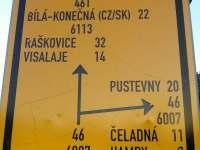 cyklo-mapa - pronájem chaty Ostravice