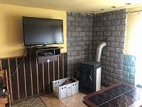 Obývací pokoj - chata k pronajmutí Hrčava
