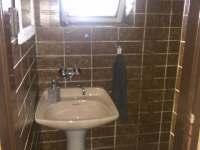 sprchovy kout - chata k pronajmutí Hrčava