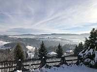 Zima 2020 výhled - pronájem chaty Hrčava