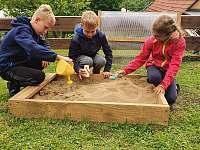 dětské hřiště - apartmán k pronájmu Prostřední Bečva