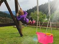 dětské hřiště - apartmán ubytování Prostřední Bečva