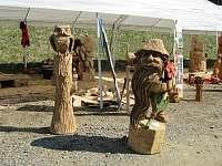 Pustevny v květnu - výstava a ukázky výroby dřevěných soch - Prostřední Bečva
