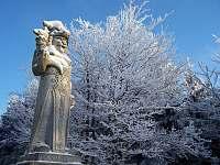 Radegast - krásný výlet jen 3,5 km lesem z chaty - Prostřední Bečva