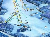 Ski areál U Sachovy Studánky - Prostřední Bečva