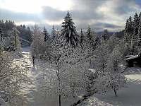 Výhled z okna - Prostřední Bečva