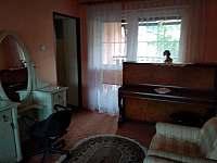 obývací pokoj - apartmán k pronajmutí Prostřední Bečva