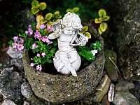 Zahrada - chalupa k pronajmutí Ostravice