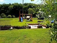 Dětské hřiště - apartmán ubytování Čeladná