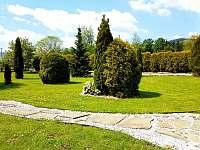 Zahrada - pronájem apartmánu Čeladná