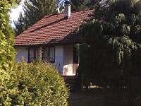 pohled jihozápad - chata ubytování Rusava