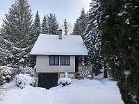 Zima - chata k pronájmu Rusava