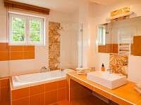 apartmán Staré Hamry - Koupelna
