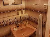 Koupelna - chata k pronájmu Dolní Lomná