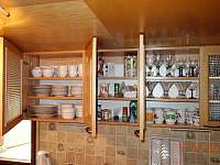 Kuchyně - chata k pronájmu Dolní Lomná