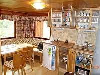 Kuchyně - chata ubytování Dolní Lomná