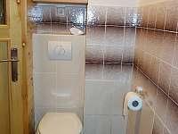 Toaleta - chata ubytování Dolní Lomná