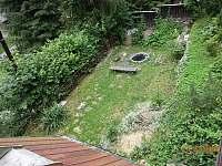 Zahrada - chata k pronajmutí Dolní Lomná