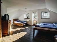 Apartmán 1 - 4+1, vlastní koupelna s WC - chalupa k pronajmutí Rožnov pod Radhoštěm