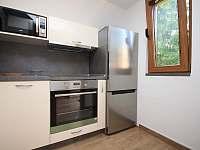 kuchyně - chata k pronajmutí Prostřední Bečva