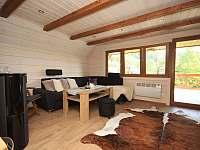 společenská místnost - chata ubytování Prostřední Bečva