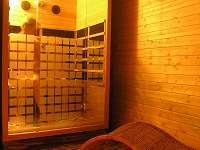 Infrasauna k dispozici za poplatek - apartmán k pronajmutí Halenkov