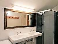 Koupelna - chalupa ubytování Krásná