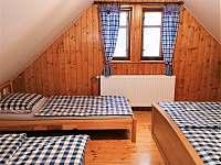 Ložnice č. 1 - chalupa ubytování Krásná