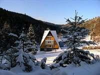 Vila Anna Wellness v zimě...