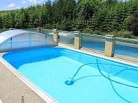 Rekreační dům s bazénem - rekreační dům ubytování Liptál - 9