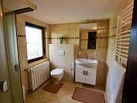 Koupelna - chata ubytování Čeladná