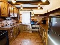 Kuchyně - chata ubytování Čeladná