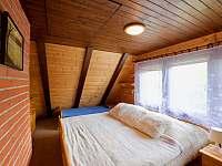 Ložnice 4 lůžka - chata k pronajmutí Čeladná