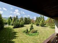 Zahrada - chata k pronajmutí Čeladná