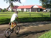 Cyklotrasy v okolí