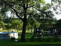 Dětské minihřiště  u chalupy