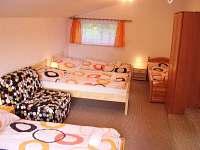Ložnice velký apartmán pro 5 osob.