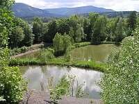 Vlastní rybníky za chalupou - k pronajmutí Kunčice pod Ondřejníkem