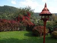 podzimní zahrada - chalupa ubytování Rajnochovice