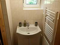 Koupelna - chata k pronájmu Horní Bečva